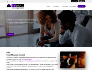 forexmanagedaccounts-fxmac.com screenshot