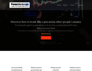 forexmentorpro.com screenshot