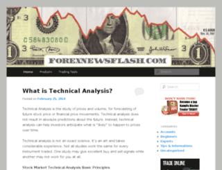 forexnewsflash.com screenshot
