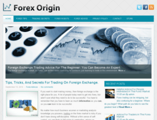 forexorigin.com screenshot