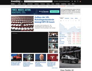 forexpros.de screenshot