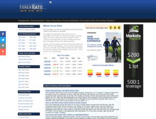 forexrate.co.uk screenshot
