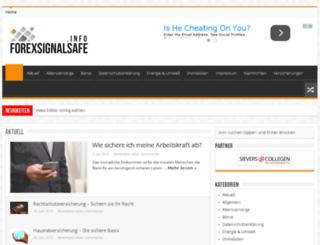 forexsignalsafe.info screenshot