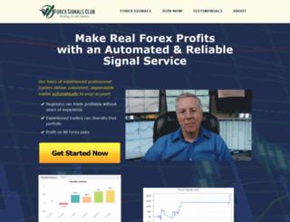 forexsignalsclub.com screenshot