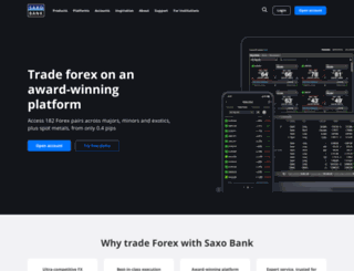forextrading.com screenshot