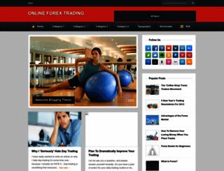 forextradinginfo2.blogspot.com screenshot