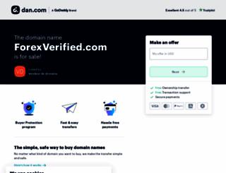forexverified.com screenshot