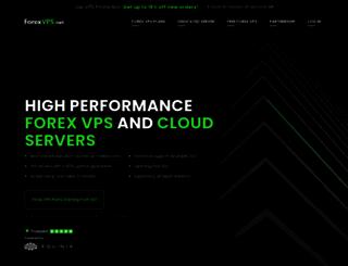 forexvps.net screenshot