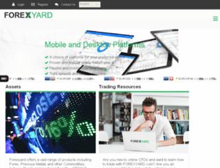 forexyard.com screenshot