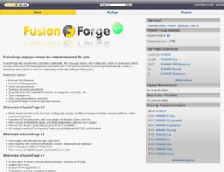 forge.fi-ware.org screenshot