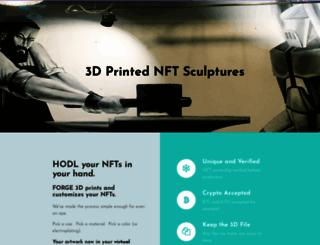 forge3dstudio.com screenshot
