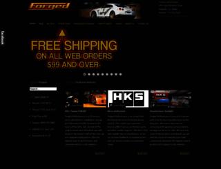 forgedperformance.com screenshot