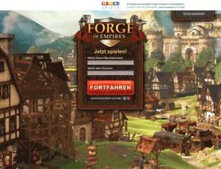 forgeofempires.dmax.de screenshot