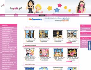 forgirls.pl screenshot