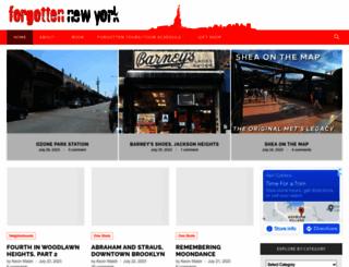 forgotten-ny.com screenshot