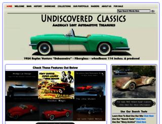 forgottenfiberglass.com screenshot