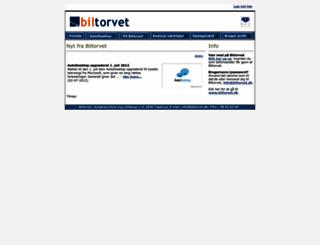 forhandler.biltorvet.dk screenshot