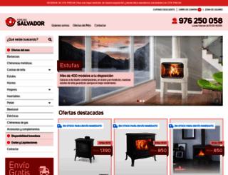 forjas-salvador.com screenshot