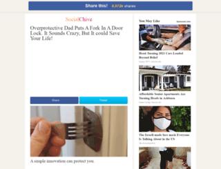 fork.socialchive.com screenshot