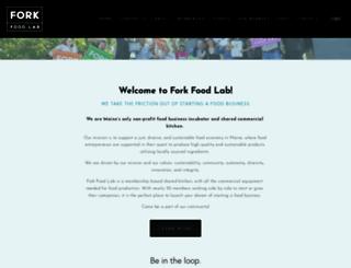forkfoodlab.com screenshot