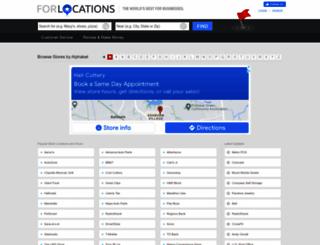 forlocations.com screenshot