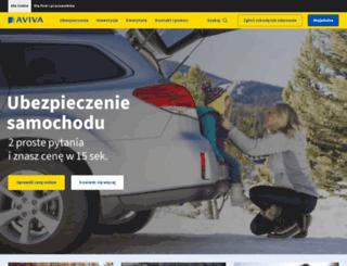 form.aviva.pl screenshot