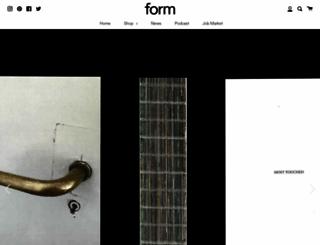 form.de screenshot