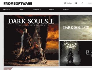 form.fromsoftware.jp screenshot
