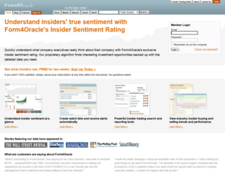 form4oracle.com screenshot