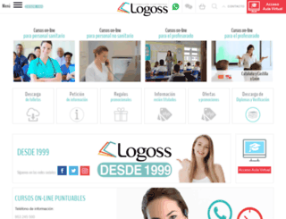 formacion.logoss.net screenshot