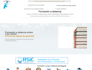 formacionadistancia.org screenshot