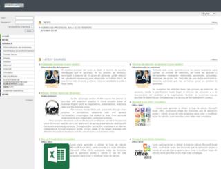 formacionyprofesion.com screenshot