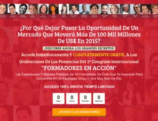formadoresenaccion.com screenshot