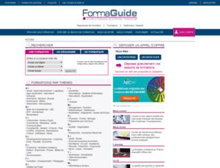 formaguide.com screenshot