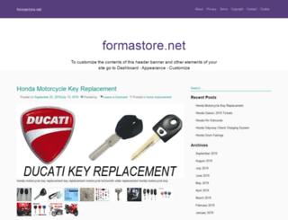 formastore.net screenshot