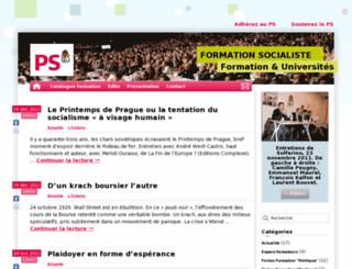formation.parti-socialiste.fr screenshot