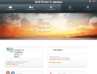 formation.softeam.fr screenshot