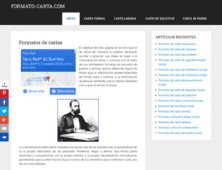 formato-carta.com screenshot