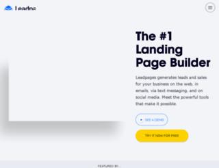 formazione.leadpages.co screenshot