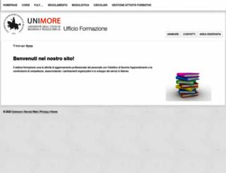 formazione.unimo.it screenshot