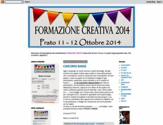 formazionecreativa.blogspot.com screenshot