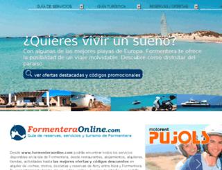 formenteraonline.net screenshot