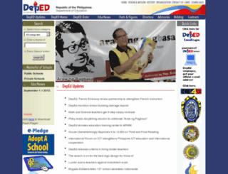 former.deped.gov.ph screenshot