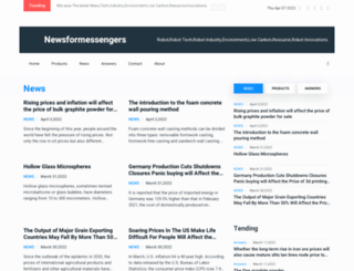 formessengers.com screenshot