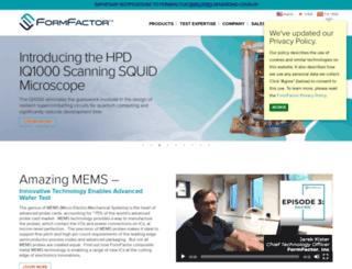 formfactor.com screenshot