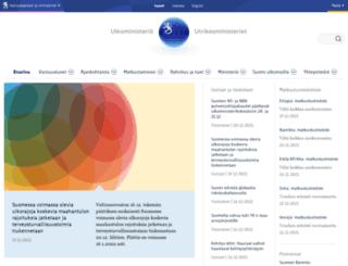 formin.finland.fi screenshot
