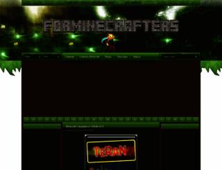 forminecrafters.ru screenshot