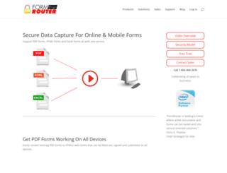 formrouter.com screenshot