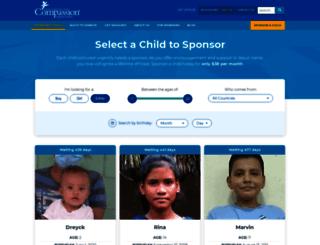 forms-compassion.com screenshot