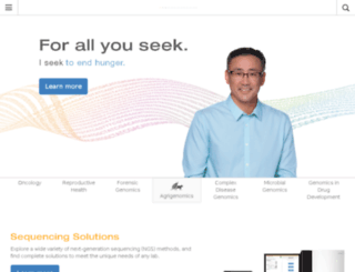 forms.illumina.com screenshot